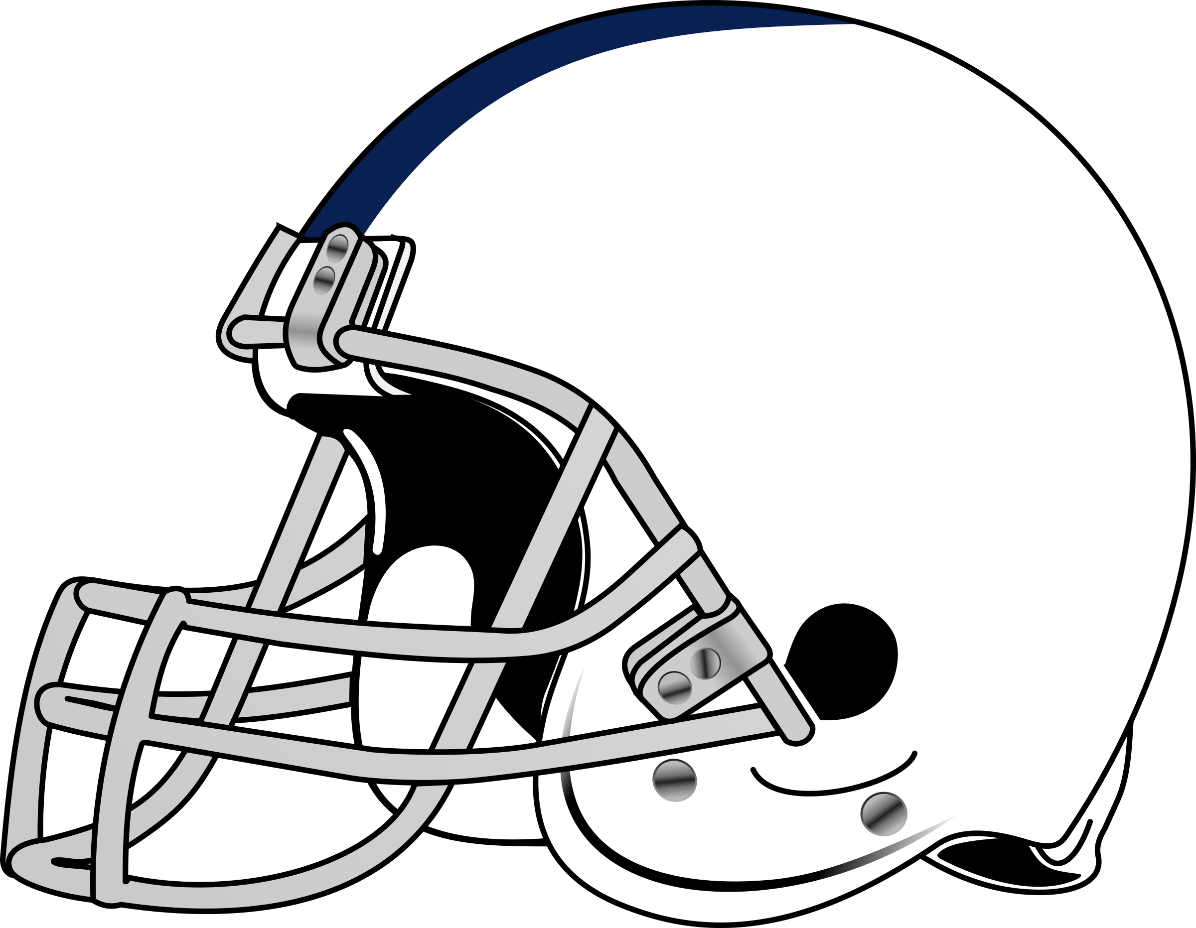 Players clipart line art football. Player black and white