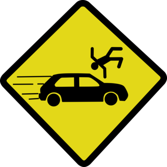Playground clipart accident. Traffic collision pictogram computer