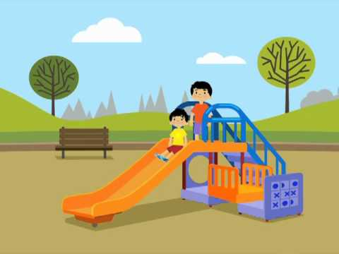 Playground clipart accident. Safety tips youtube