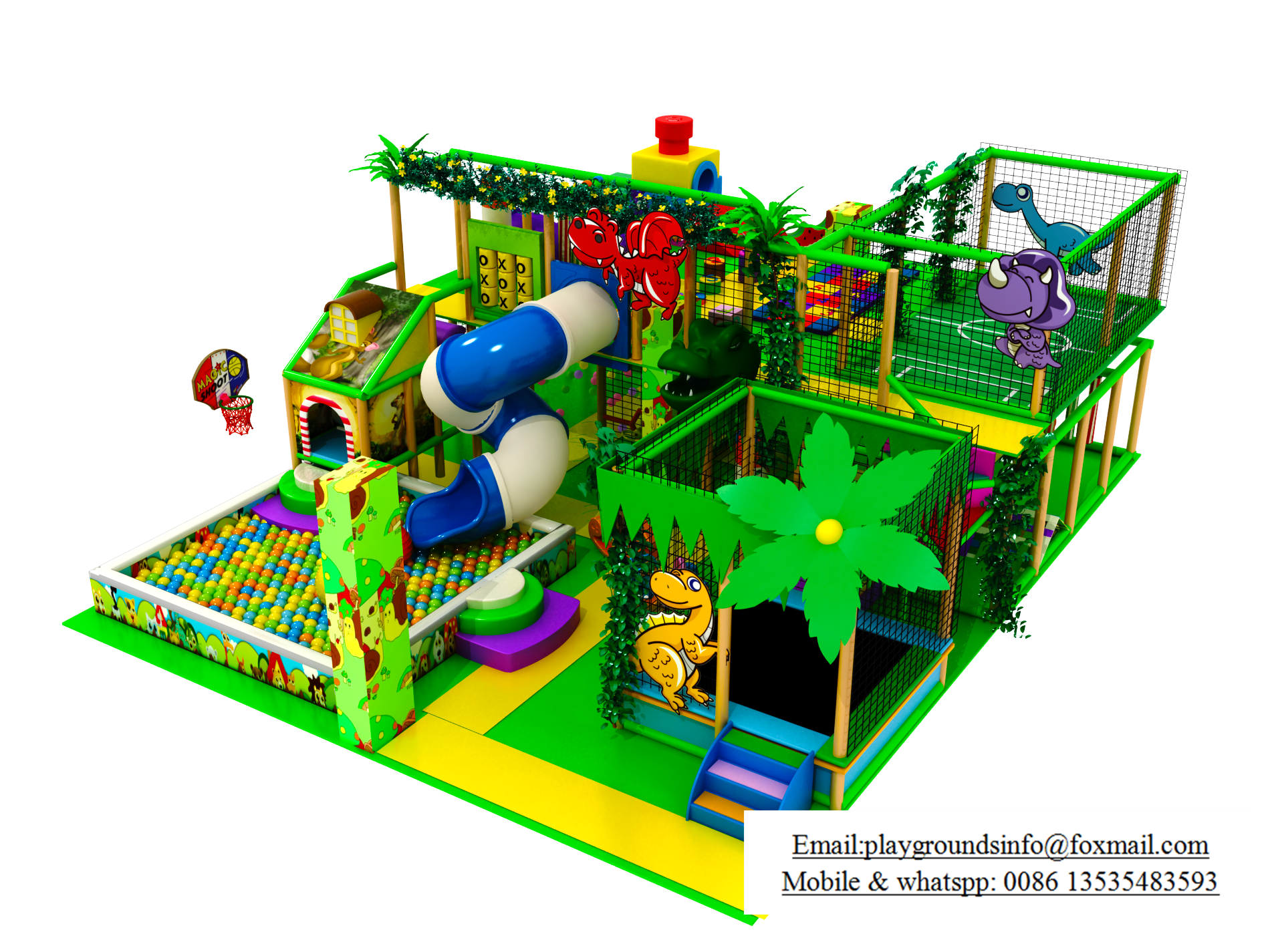Playground in floor plan png. Customized for the indoor