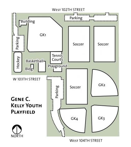 Playground in floor plan png. Gene c kelly youth