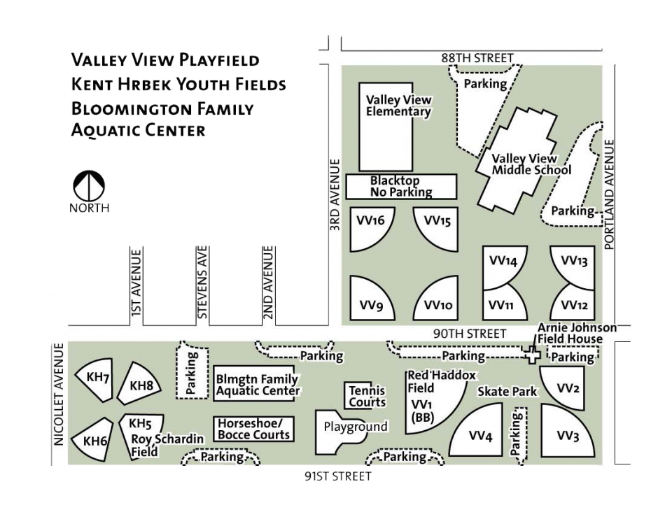 Playground in floor plan png. Valley view playfield city