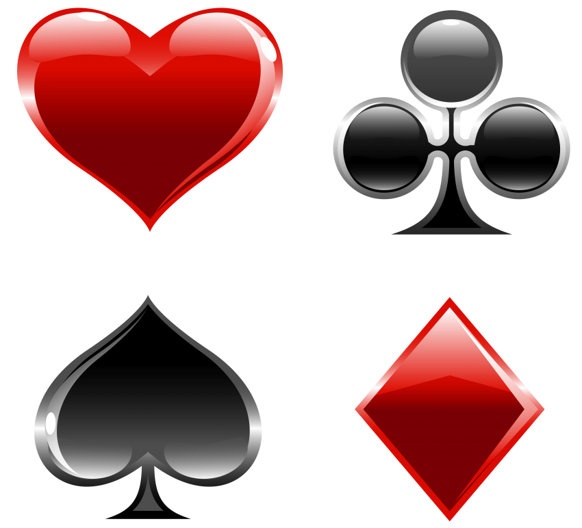 Playing card suits png. Cards free images toppng