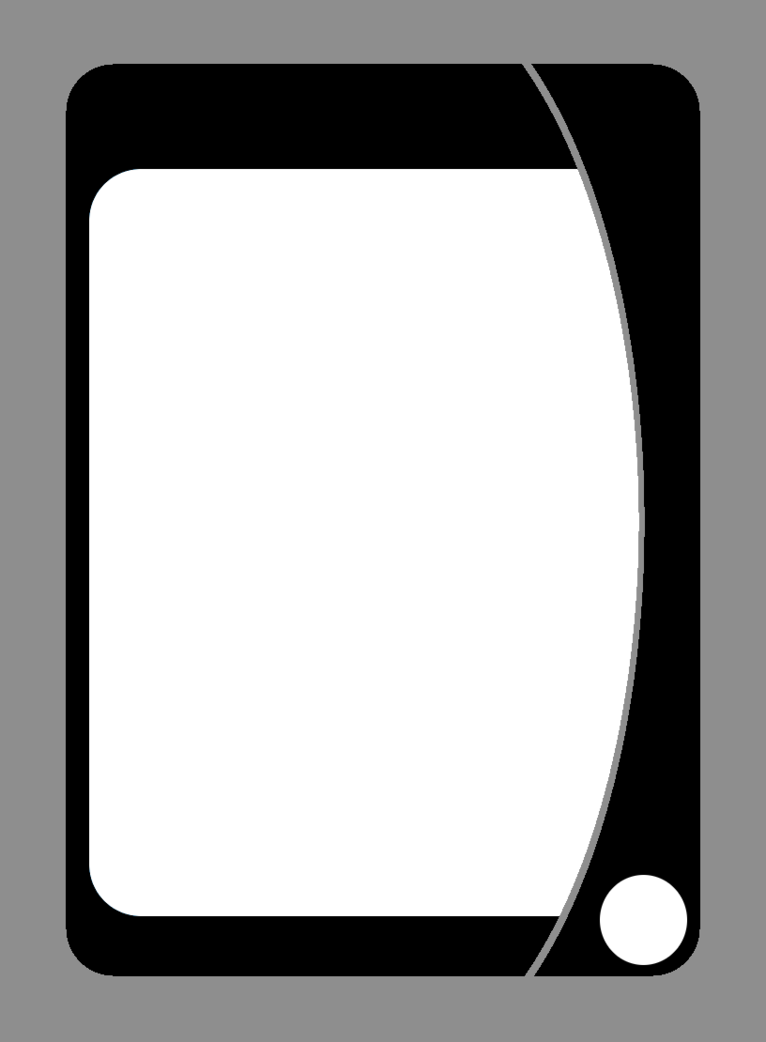 Playing card template png. Free by liveinamoment on