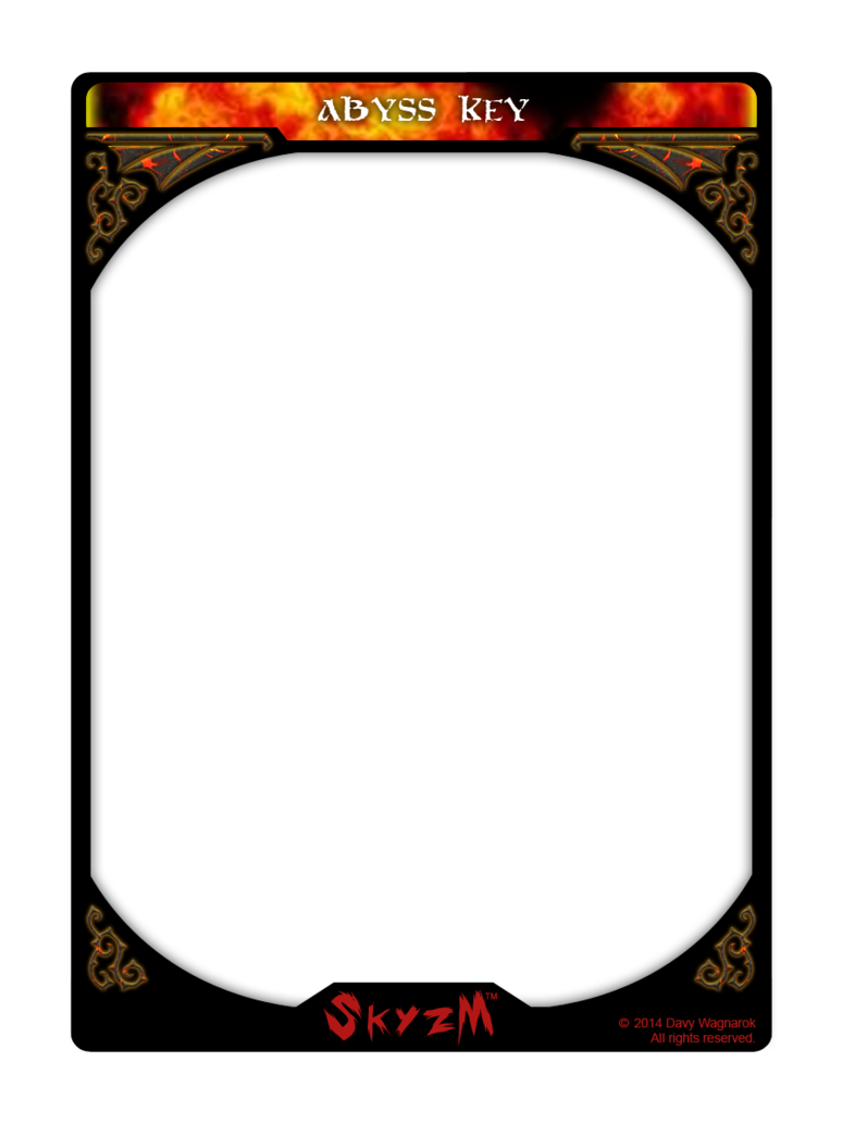 Playing card template png. Skyzm hoe abyss key