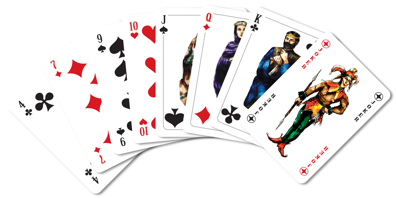 Playing cards design png. Plastic image size order