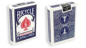 Playing cards png zip. Bicycle mandolin blue by