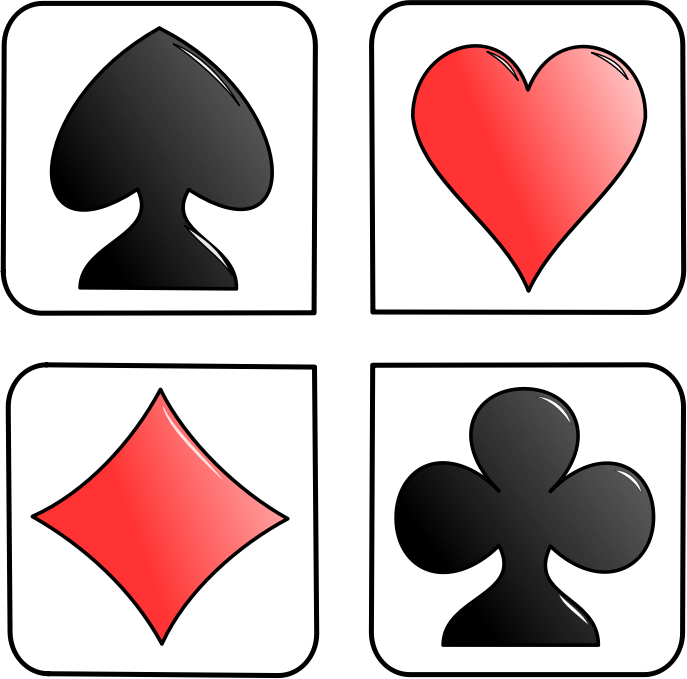 Playing cards png zip. Deck of clipart at