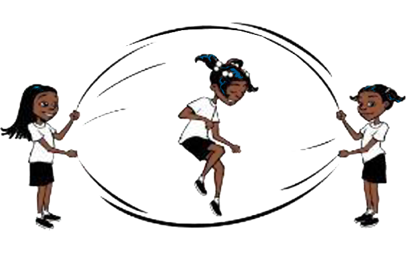 Playing clipart double dutch. Jump rope free