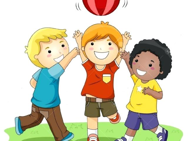 Playing clipart playingclip. Kids outside clip art