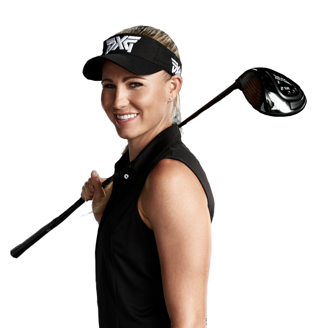 Playing golf png. Lady golfer transparent images