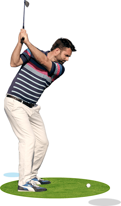 Playing golf png. How to improve your