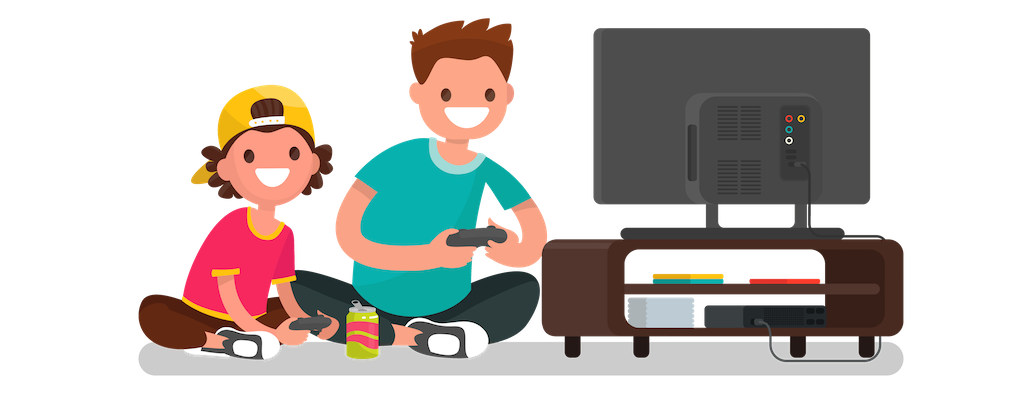 playing games png