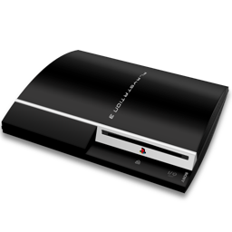 Playstation 3 png. Ps fat hor icon