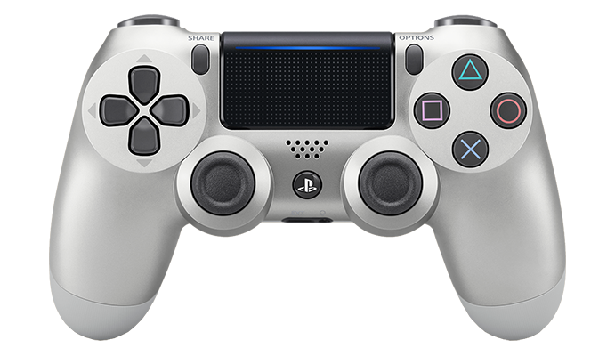 Playstation controller png. New dualshock wireless silver