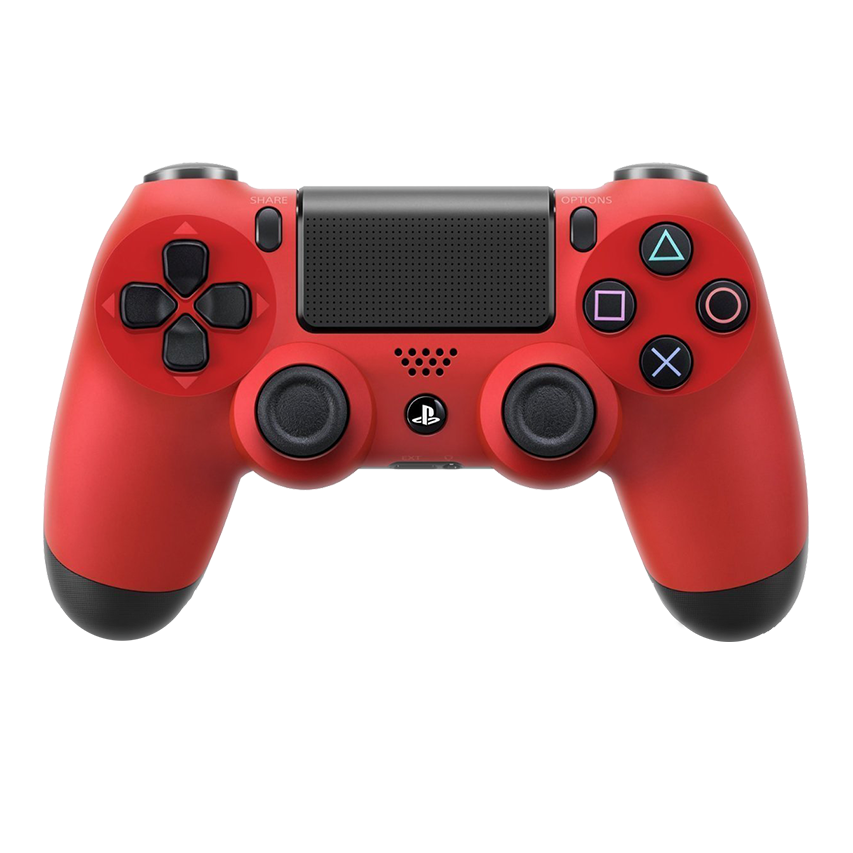 Playstation 4 controller png. Magma red rapid fire