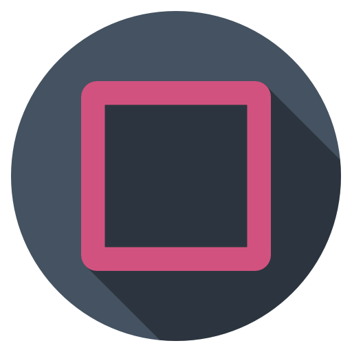 Playstation 4 icon png. Square dark flat iconset