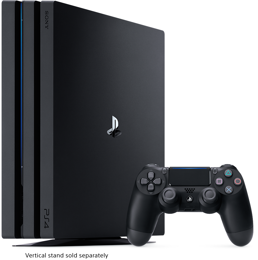 Playstation 4 png. Ps pro console features