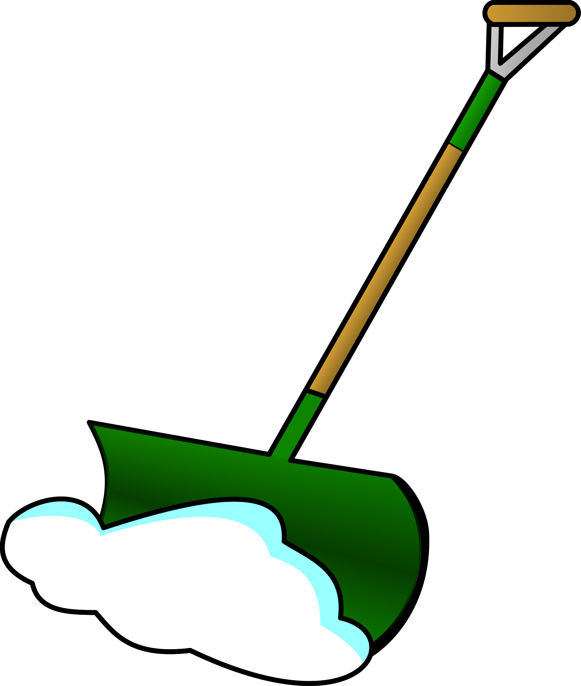 Big image png. Plow clipart snow shovel svg library library