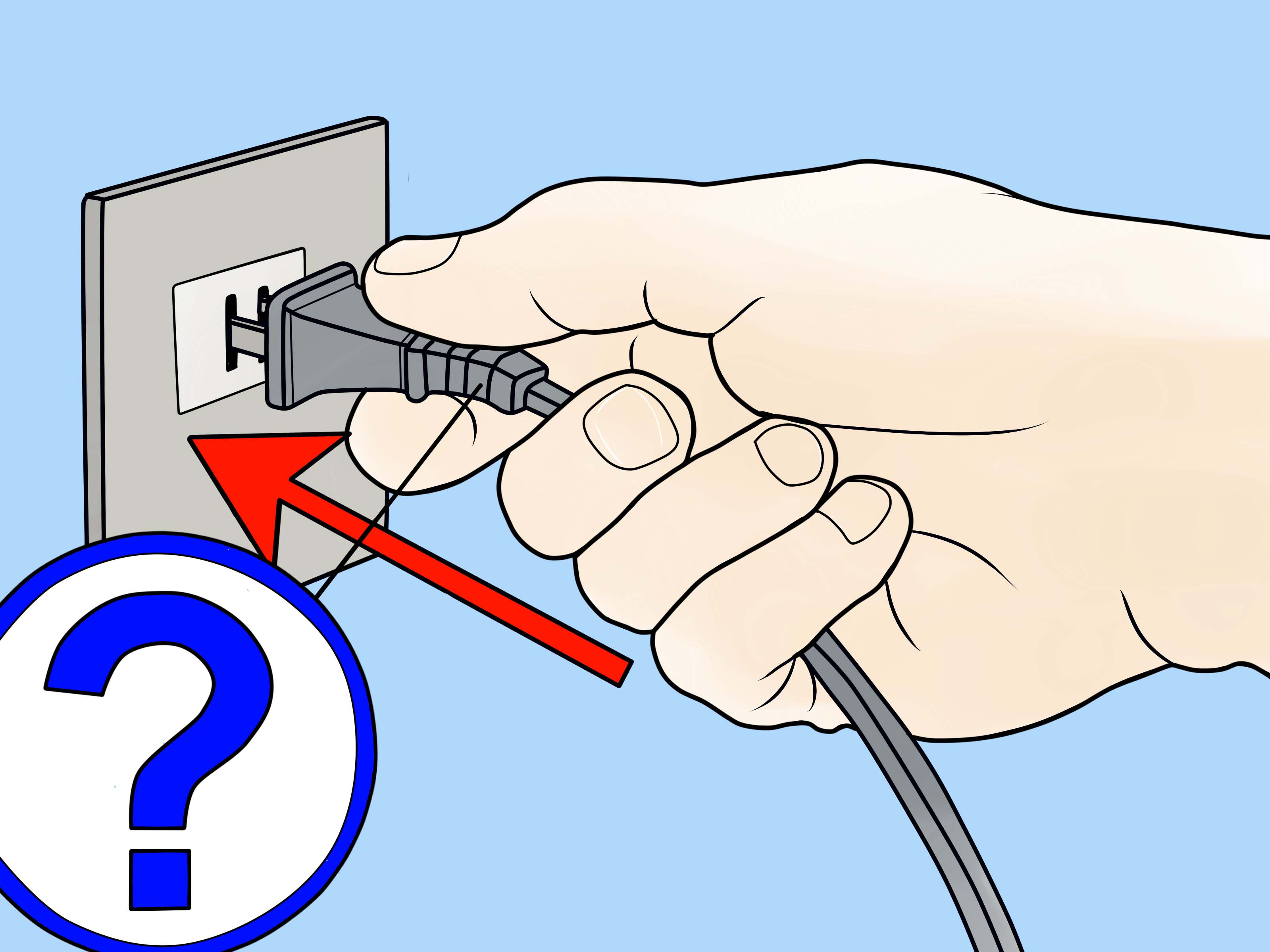 Plug clipart electrical installation. How to repair an