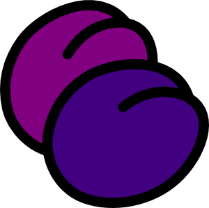 Clip art at clker. Plum clipart clipart freeuse