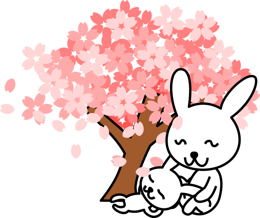 Plum clipart cute. Cherry blossom drawing free