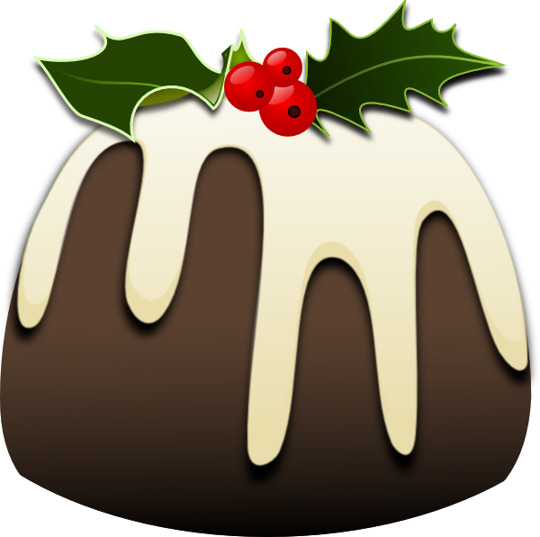 Christmas pudding clip art. Plum clipart plum cake image library