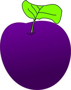 Clip art at clker. Plum clipart violet clip library library