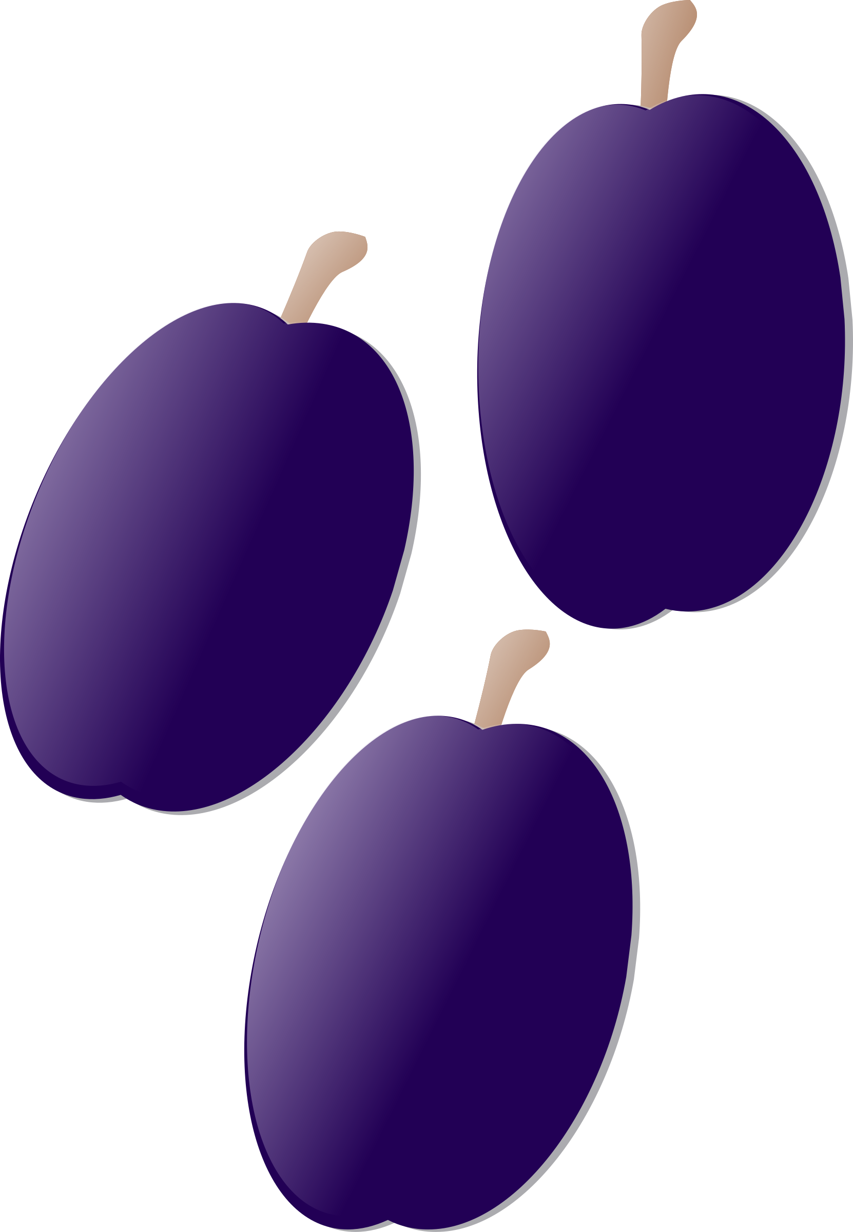 Plums big image png. Plum clipart violet vector free stock