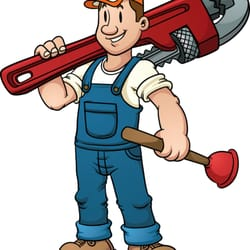 Mom and pop plumbing. Plumber clipart drainage system image download
