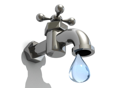Plumbing clipart dripping faucet. Vibrant design water stock