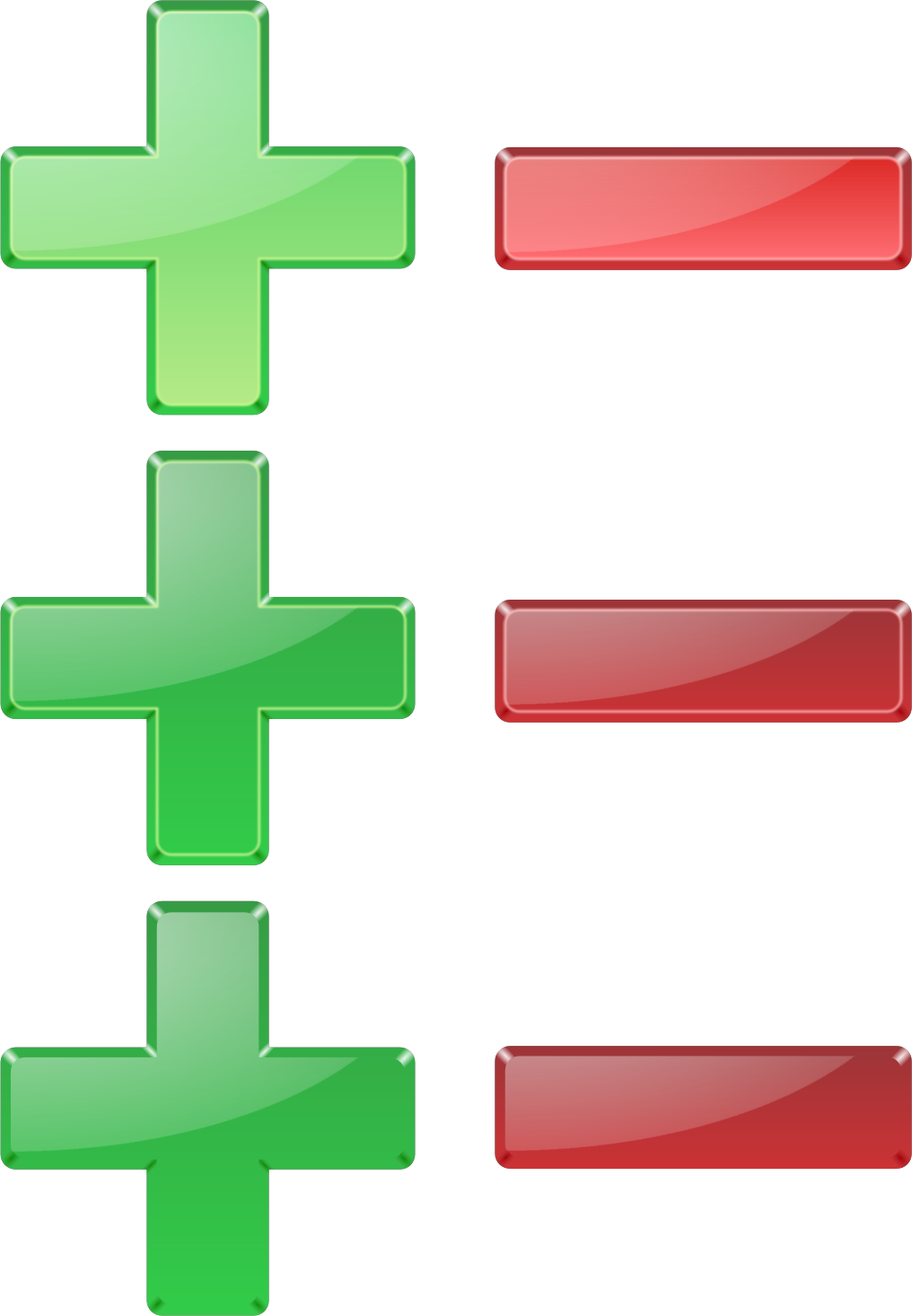 Plus and minus png. Icons free downloads this