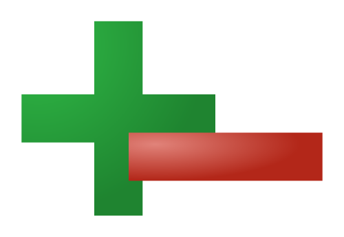 Plus and minus sign png. File plusminus svg wikimedia