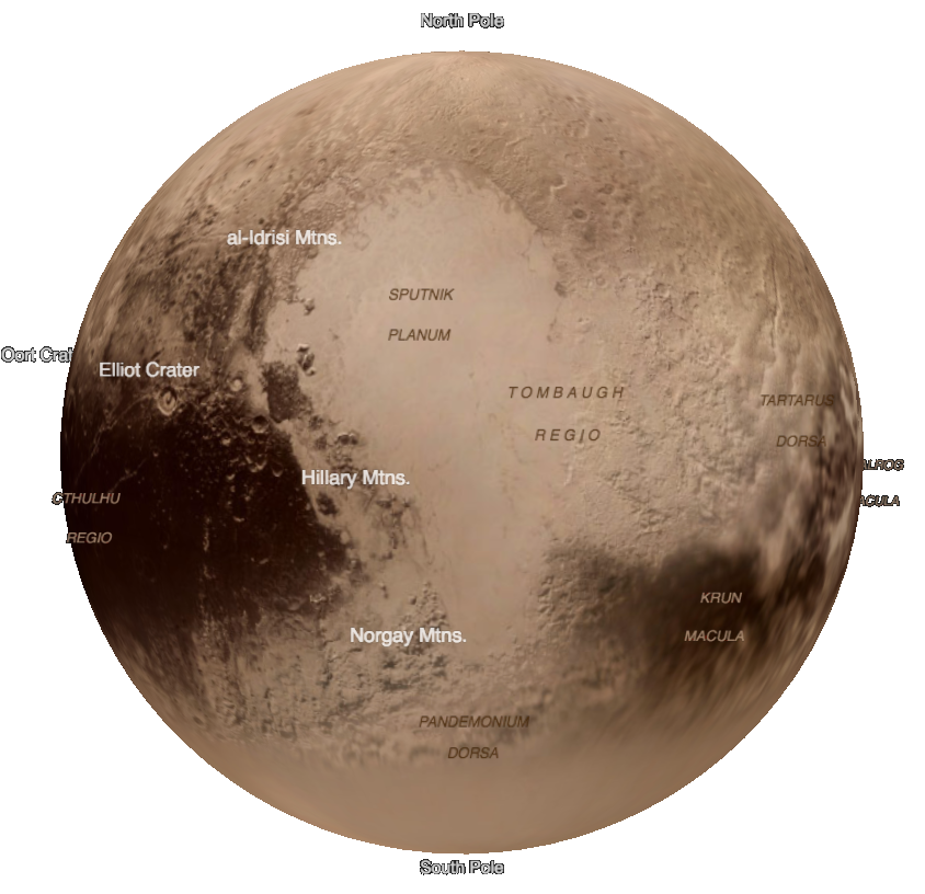 Pluto planet png. A year after the