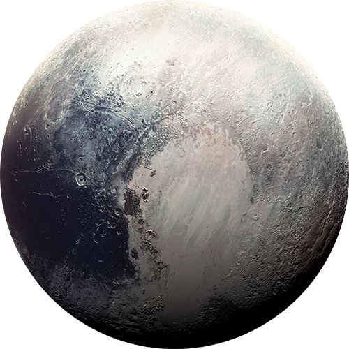Pluto planet png. Interactive solar system