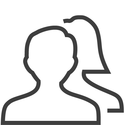 Png 2 icon. Couple silky line user