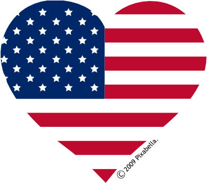 Nationalism drawing veterans day. Image american flag heart