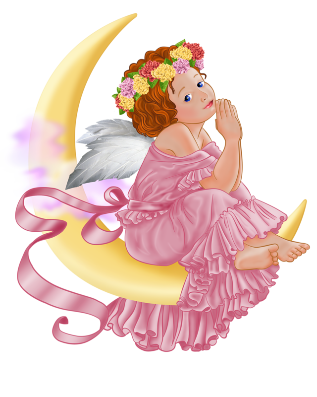 Png angel. And moon picture printables