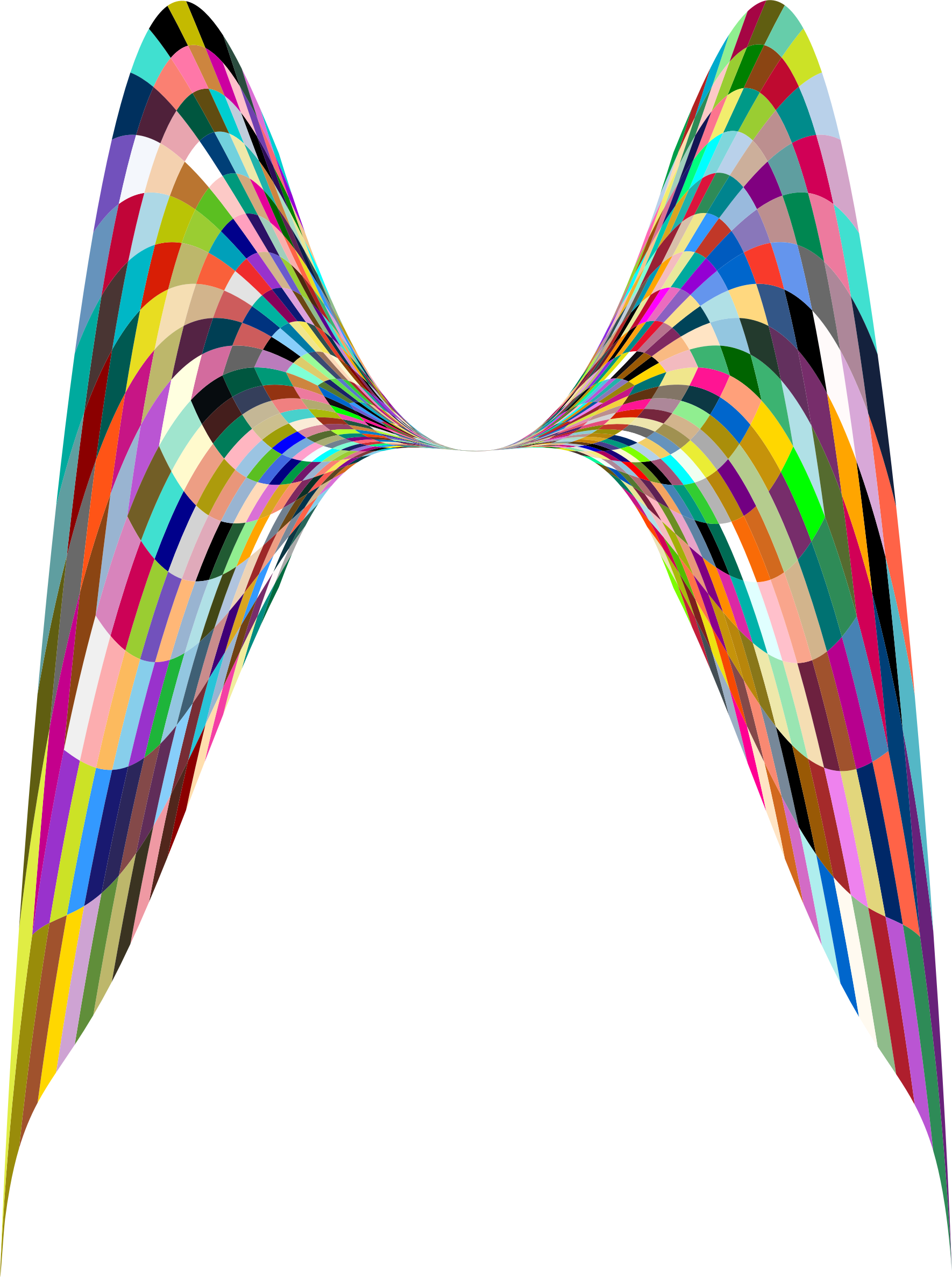 Png angel wings. Colorful geometric icons free