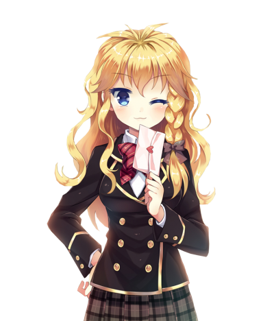 Png anime girl. Download free transparent image