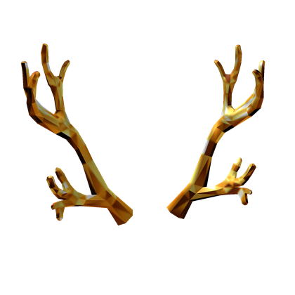 Png antlers. Golden roblox