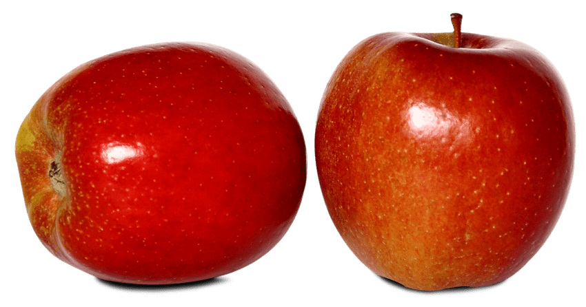 Png apples. Two red ripe free