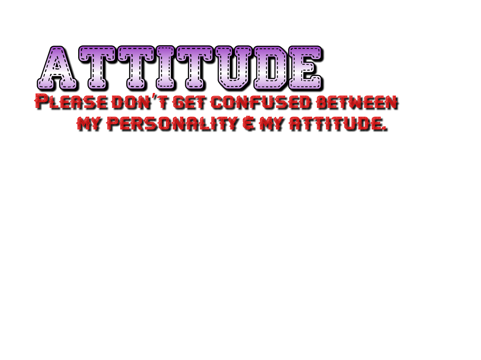 Png attitude text effects. Shaitan fb tricks tips
