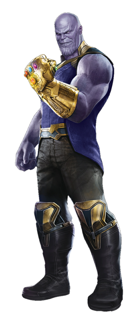 thanos clipart figure