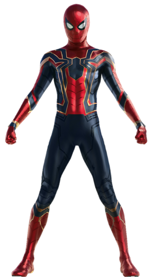Iron spider png. Spiderman avengers infinity war