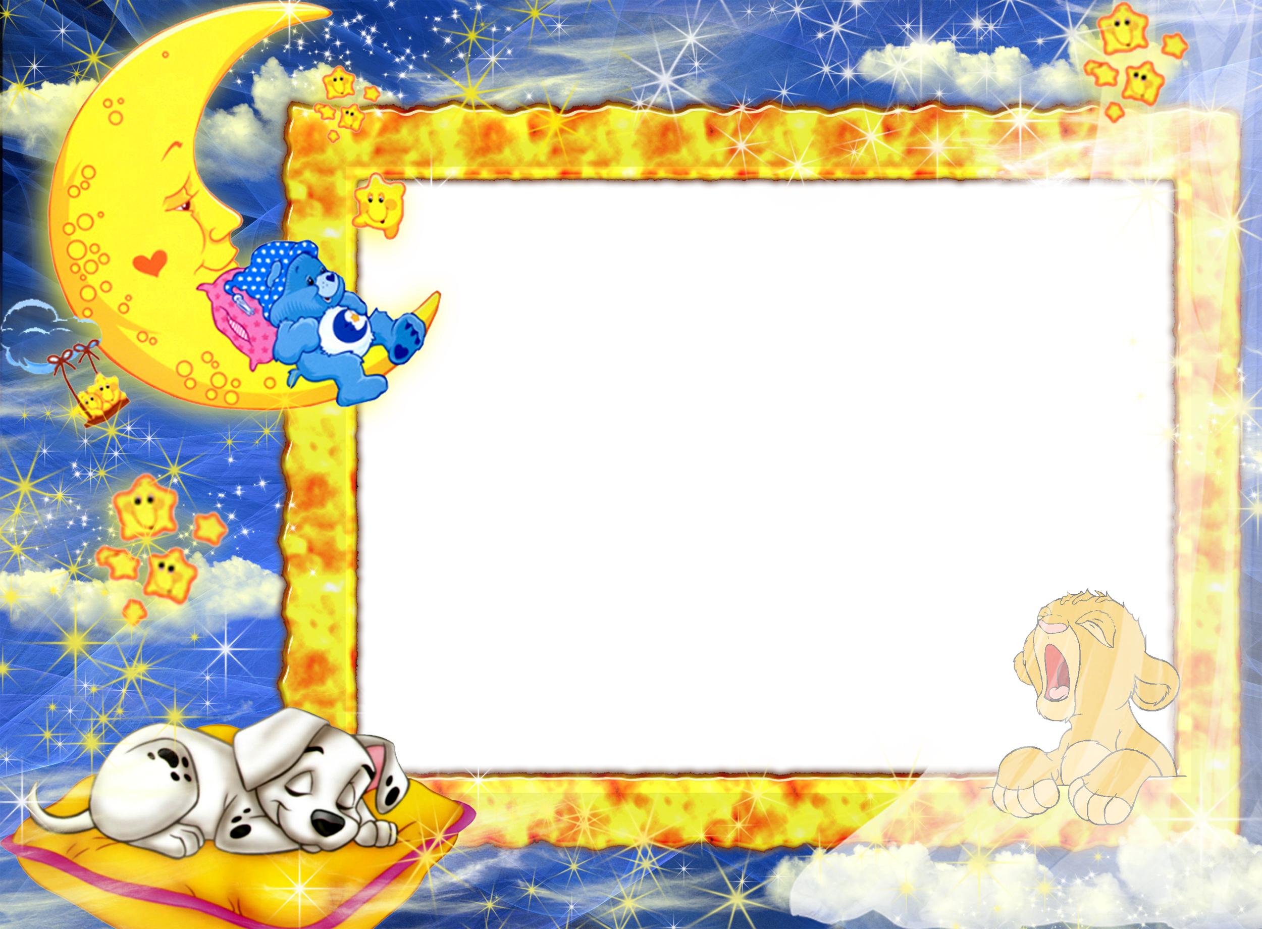 Png baby frames. Night photo frame gallery