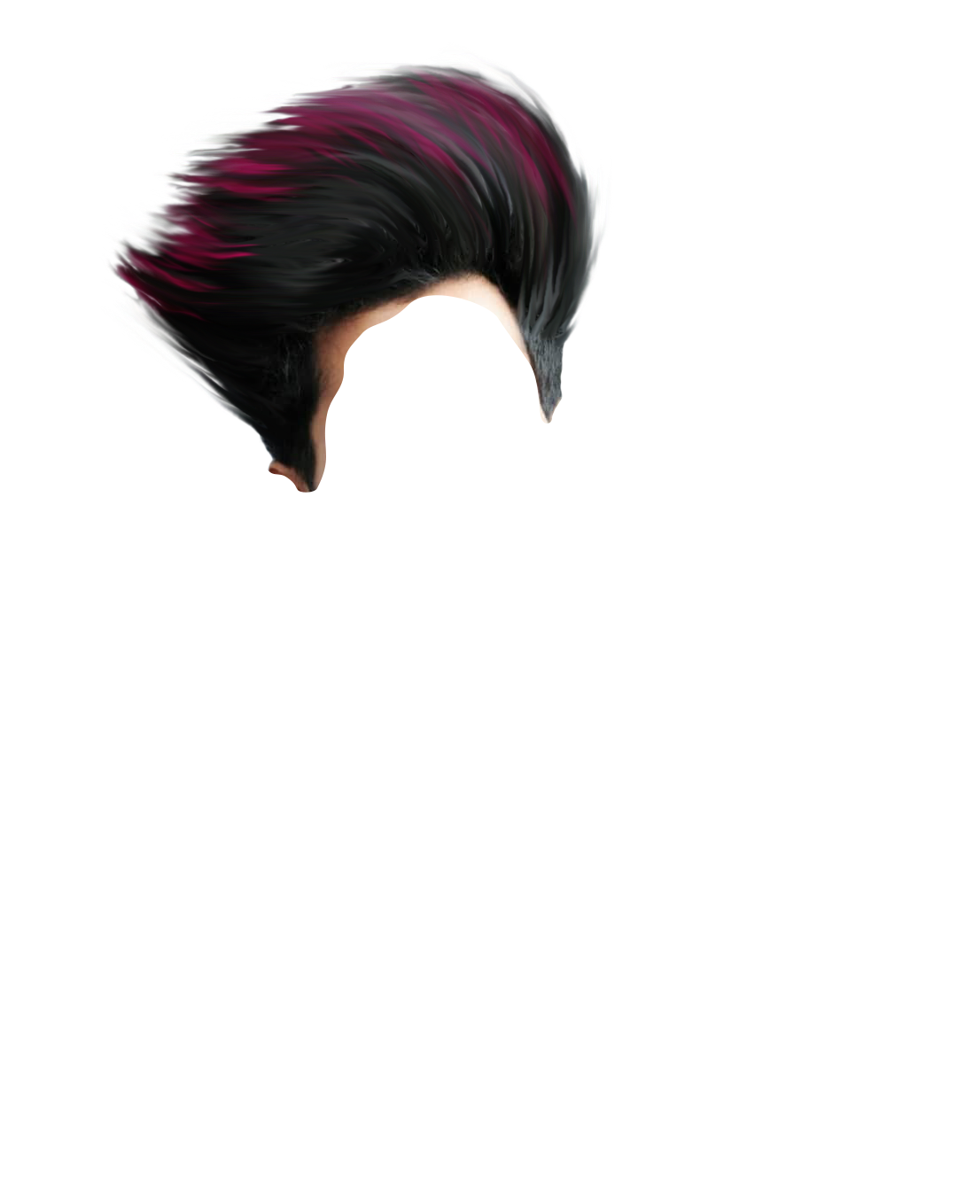 Png background hd. Full cb hair download