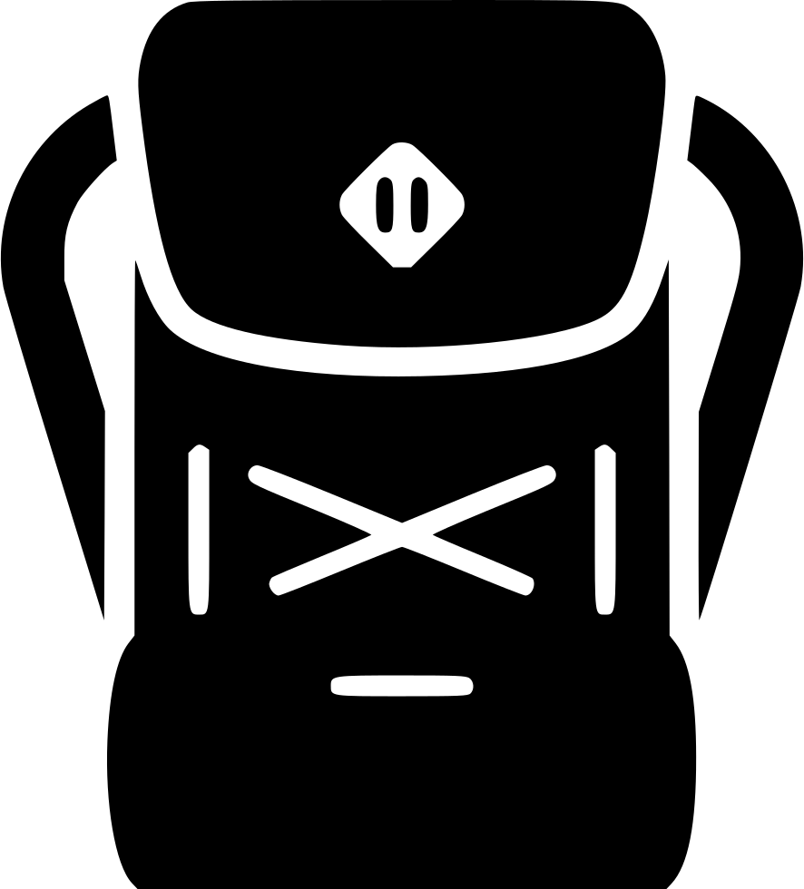 Png backpack icon. Svg free download onlinewebfonts