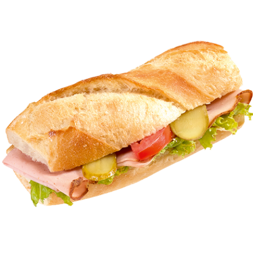 Png baguette. Confiserie honold ag with