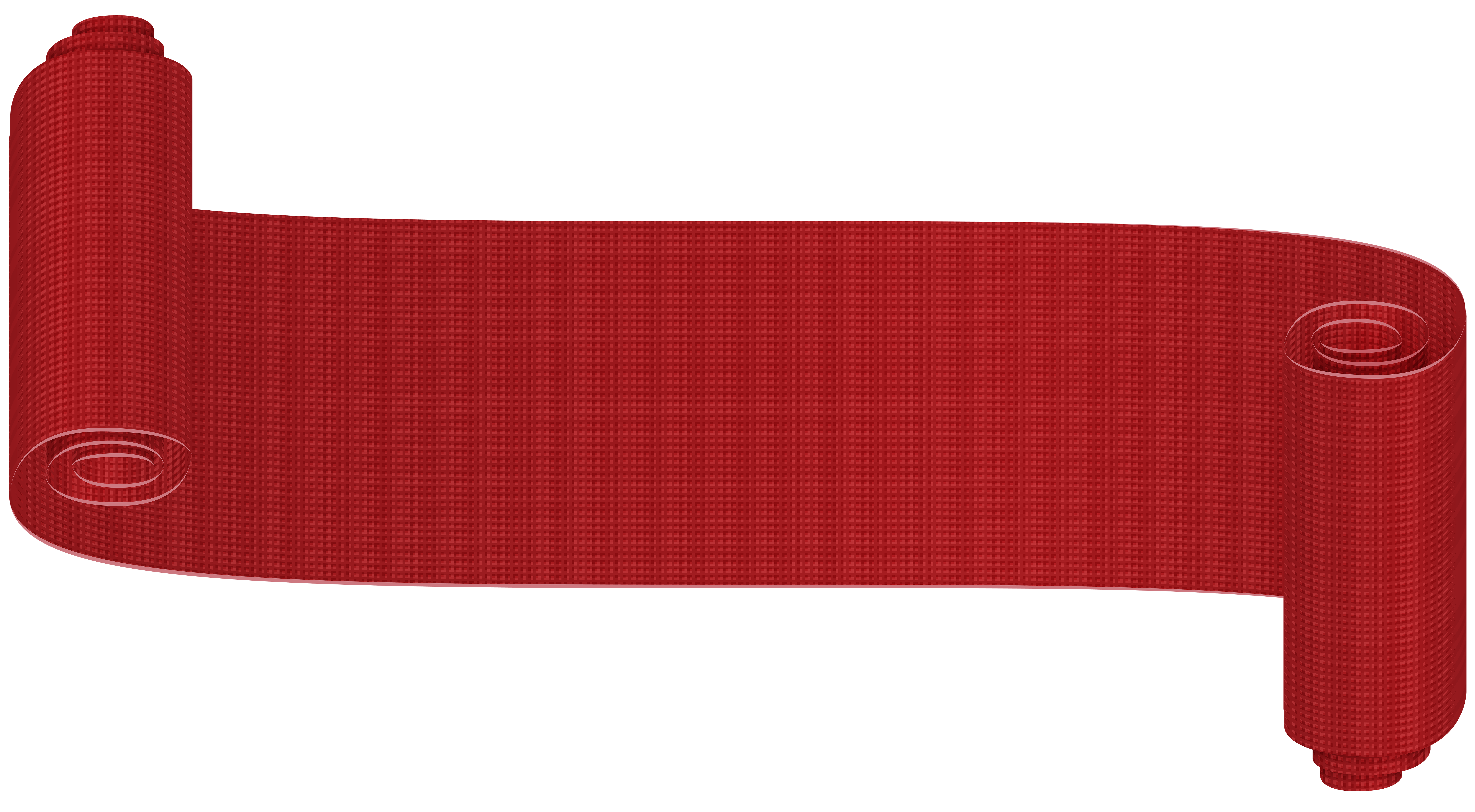 Png banner ribbon. Red deco clip art
